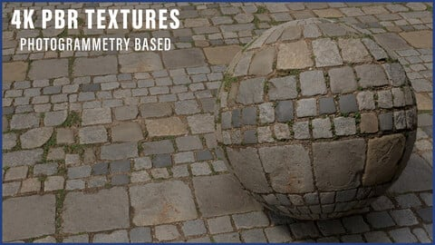 Photogrammetry - Cobblestone Floor Material