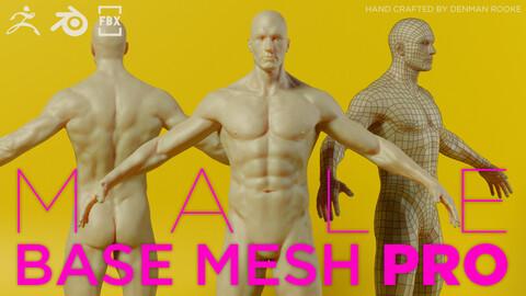 Male Base Mesh Pro