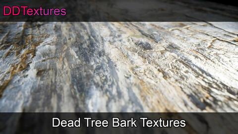 10 Dead Tree Bark Materials/Textures