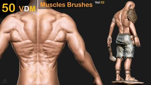 50 VDM Muscles Brushes  _Vol 02