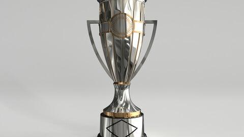 Concacaf Champions League Trophy 3D model