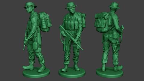 Modern Jungle Soldier Walk3 MJS1
