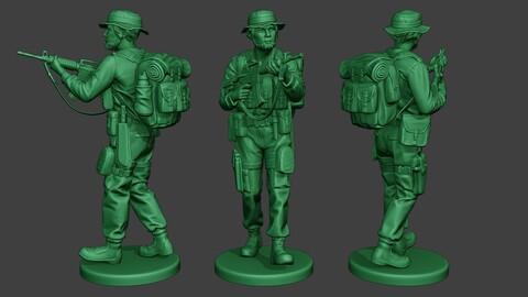 Modern Jungle Soldier Walk5 MJS1