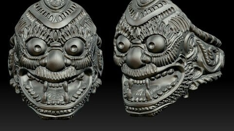 Demon Ring - Based on Japanese Culture
