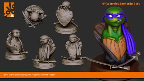 Ninja Turtles Leonardo Bust