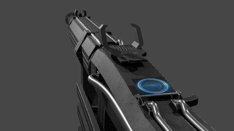 Scifi Gun ww1A