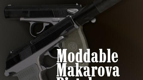 Moddable Makarova Pistol