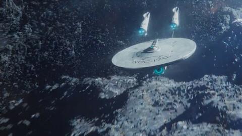 USS Enterprise NCC-1701-A  space warship (Start Trek)