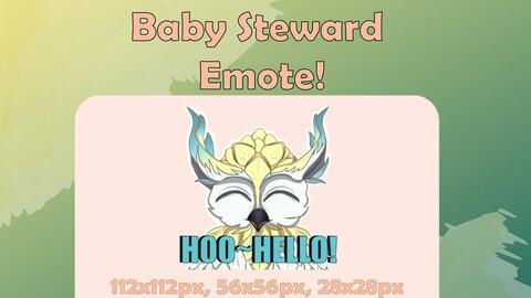 World of Warcraft - Baby Steward emote !