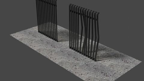 Fence 7 - 3D-Model