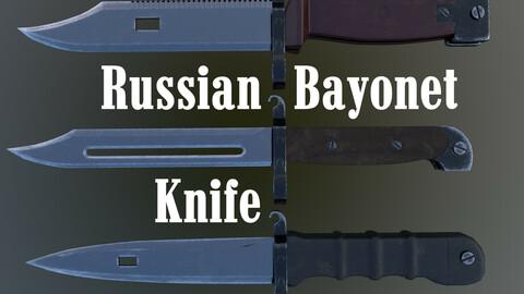 Russian Bayonet Knife