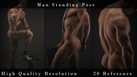 Man Standing Pose