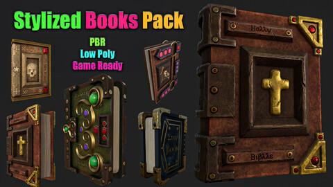 Stylized Books Pack Vol 1