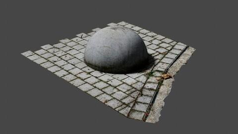 Concrete Ball - Photoscan