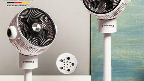 Powerful air circulator
