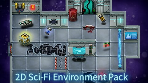 2D Sci-Fi Environment Pack