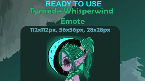 World of Warcraft - Tyrande Whisperwind Chibi Emote