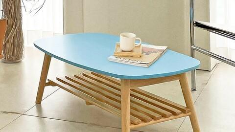 Pansy Shelf Wood Table