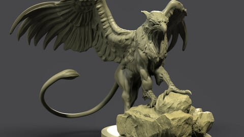GRIFFIN  STL for 3d printing