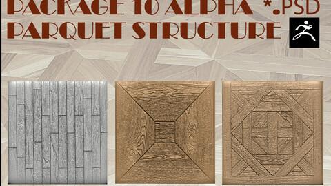 Package 11 Alpha parquet structure.