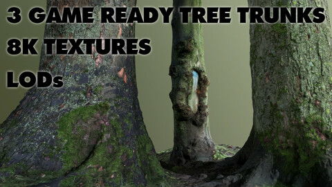 Game Ready Tree Trunks