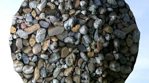 Gravel 21 PBR Material