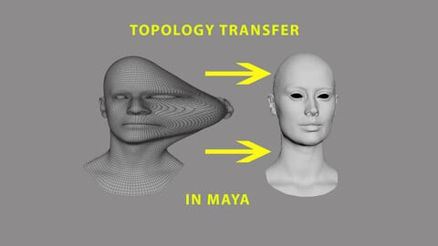 Softwrap /topology transfer in Maya(The tutorial is free to view from YouTube)