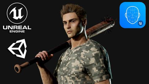 Survival Man - Game Ready