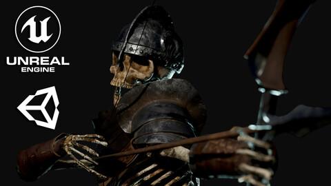 Skeleton Archer - Game Ready