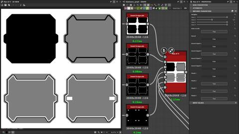 Max Of 4 - Substance Designer Tool