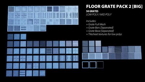 Floor Grate Pack V2