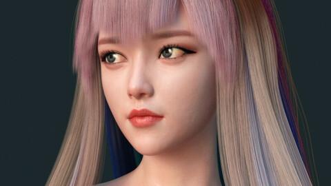 Ayumi Daria For Genesis 8 Female - Beautiful Like A Flower (DAZ3D)