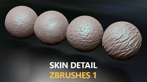 Skin Detail Zbrushes 1