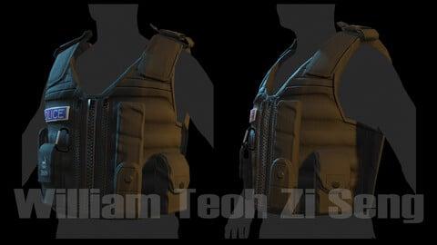 UK Yellow Vest 001 (Dark version) [texture only]