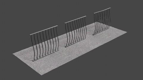 Fence 10 - 3D-Model