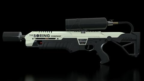 The Boring Company Not a Flamethrower Gun