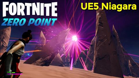 Fortnite Zero Point | Unreal Engine 5 Niagara Tutorial