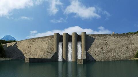 Reservoir - Dam 01
