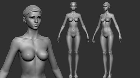 Petite Female stylized Base