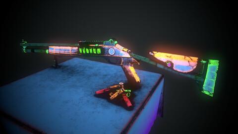 Automatic Shotgun - NeonGux