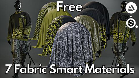 7 Fabric smart material : Oversized sweatshirt & cargo pants