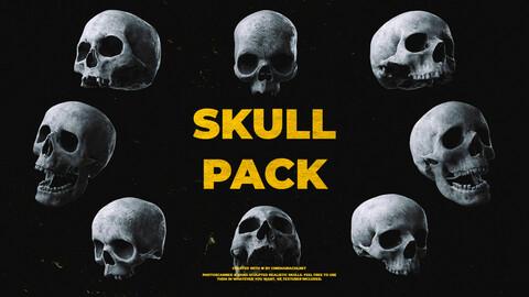 Ultimate Human Skull Pack