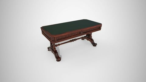 Small victorian living table
