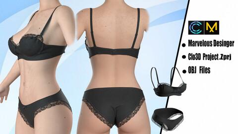 Bikini Underwear & Bra