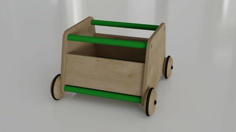Ottawa Toy Storage Box by Made Design