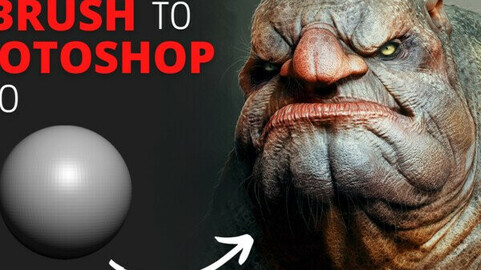 Zbrush to PhotoShop [FULL TUTORIAL] [MLW]