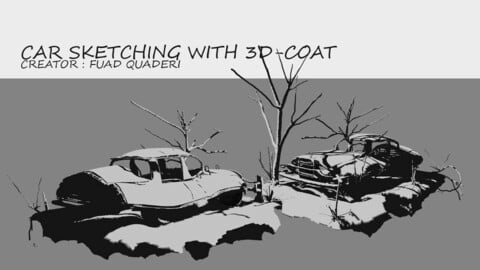 Car Sketching With 3D-Coat