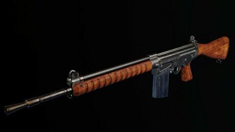 Prototype of FN Fal in 280 cartridge