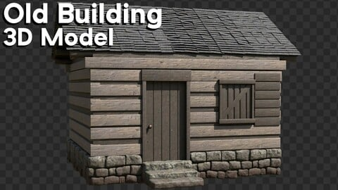Old Building (3d Model)