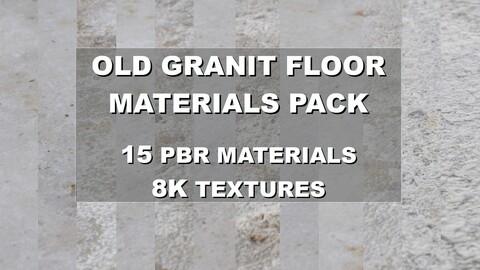 Old Granit Floor Materials Pack